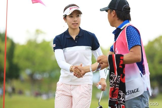 2014年 中京テレビ・ブリヂストンレディスオープン 初日 森田理香子 昨年につづき連覇なるかな