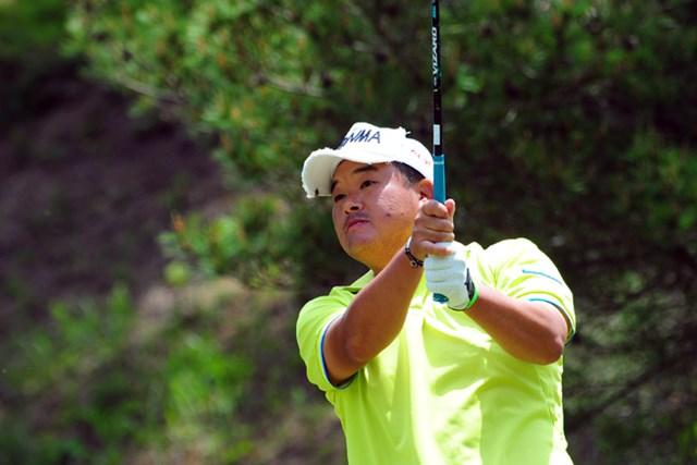 2014年 関西オープンゴルフ選手権競技 3日目 小田孔明 序盤で一気に首位に肉薄したんやけど、中盤スコアを伸ばせずにトータル10アンダー止まり。爆発は明日に持越しでっか?3位T