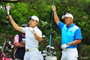 2014年 関西オープンゴルフ選手権競技 最終日 小田孔明、藤本佳則