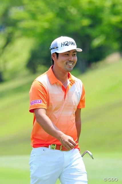 2014年 関西オープンゴルフ選手権競技 最終日 谷原秀人 もっと行くと思ってましたんやが…。最後の連続バーディでなんとか2アンダーにまとめての7位タイでした。