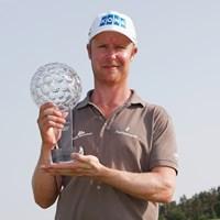 昨年はお隣・フィンランドのイロネンが優勝。今年は米・欧年間王者としてステンソンが凱旋Vを狙う(Dean Mouhtaropoulos /Getty Images) 2014年 ノルデアマスターズ 事前 ミッコ・イロネン