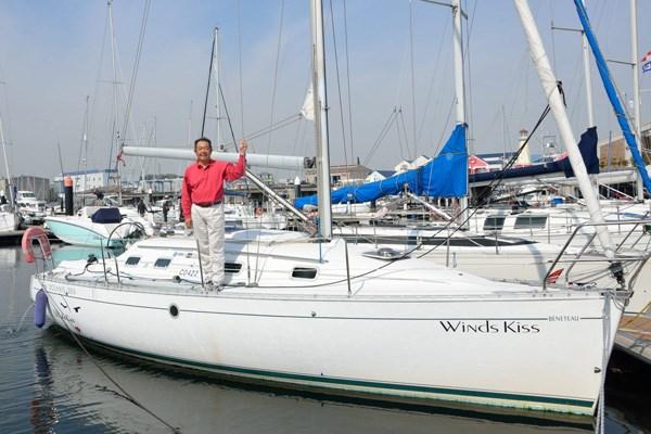 仲間と2人で、中古ヨットを800万円で購