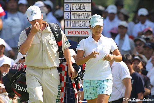 「とっても楽しかった」藍、我慢のゴルフで7位タイ