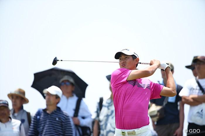 単独首位に立った韓国の25歳ジャン・ドンキュ 2014年 ~全英への道~ミズノオープン 3日目 ジャン・ドンキュ