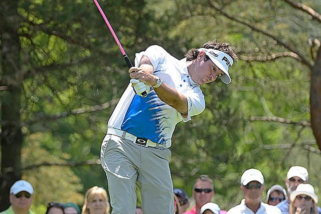 2014年 ザ・メモリアルトーナメント 3日目 バッバ・ワトソン キャリアハイとなるシーズン3勝目に早々と王手をかけたB.ワトソン (PGA TOUR)