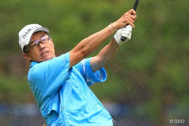 2014年 日本プロゴルフ選手権大会 日清カップヌードル杯 初日 田村尚之 トップアマからプロ転向イーブンスタート