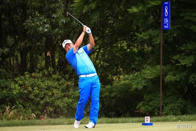 2014年 日本プロゴルフ選手権大会 日清カップヌードル杯 初日 小田孔明 トップと1打差だったのに最後の最後痛恨のダボ