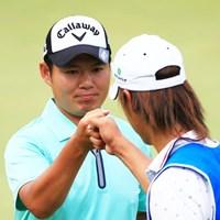 大田和桂介が通算6アンダーで首位に浮上し、決勝ラウンド進出を決めた 2014年 日本プロゴルフ選手権大会 日清カップヌードル杯 2日目 大田和桂介