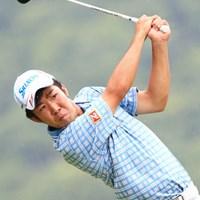 初めてのメジャー大会に9位タイで決勝進出を決めた小袋秀人 2014年 日本プロゴルフ選手権大会 日清カップヌードル杯 2日目 小袋秀人