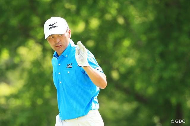 2014年 日本プロゴルフ選手権大会 日清カップヌードル杯 3日目 手嶋多一 7年ぶりの優勝を2度目のメジャー大会で果たすか、単独首位に立った手嶋多一