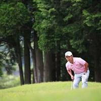 初勝利は遠のいてしまったかな 2014年 日本プロゴルフ選手権大会 日清カップヌードル杯 3日目 大田和桂介
