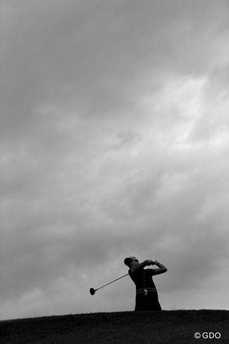 やはりゴルフは晴れてる方が好き 2014年 ヨネックスレディス 最終日 倉田珠里亜