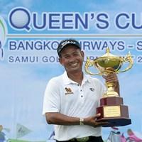 最終日の逆転でタワン・ウィラチャンが通算17勝目を挙げた※画像提供:アジアンツアー 2014年 クイーンズカップ 最終日 タワン・ウィラチャン
