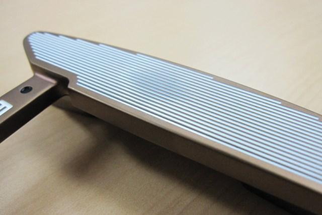 HOTLIST受賞クラブの開発背景 ~ピンゴルフ編~ 2014年Vol.2 TR溝のついたパターはミスヒットしても距離感が合いやすい
