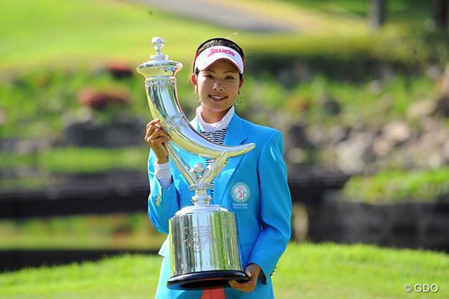 2014年 サントリーレディスオープン 事前 森田理香子 昨年は、森田理香子が自身初めてのホステス優勝で、シーズン3勝目に花を添えた
