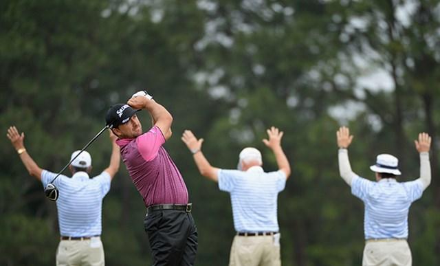 2014年 全米オープン 初日 グレーム・マクドウェル 2010年大会優勝のマクドウェルが初日2アンダーで好発進を決めた(Ross Kinnaird/Getty Images)
