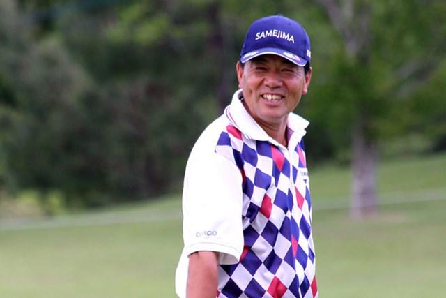 8つのバーディ量産で「64」をマークした昨季賞金王・室田淳が好スタートを切った※画像提供:日本プロゴルフ協会