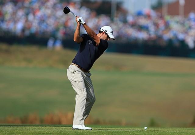 2014年 全米オープン 2日目 アダム・スコット アダム・スコットは「67」の追い上げで初日の出遅れを取り戻した(David Cannon/Getty Images)