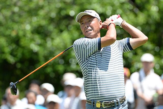 「66」をマークした池内信治が通算11アンダーの単独首位に立った※画像提供・日本プロゴルフ協会