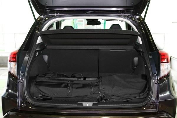 ホンダ車は全般的にキャディバッグを意識し