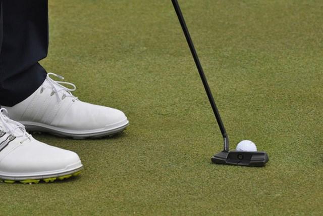 D.ジョンソンはパインハーストでカウンターバランスのパター、テーラーメイドのデイトナ62プロトタイプを使用し4位タイでフィニッシュした。(PGA TOUR/Wall)