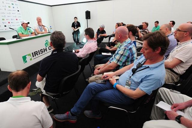16年オリンピックはアイルランドを代表してプレーすることを宣言したロリー・マキロイ(Mark Runnacles/Getty Images)