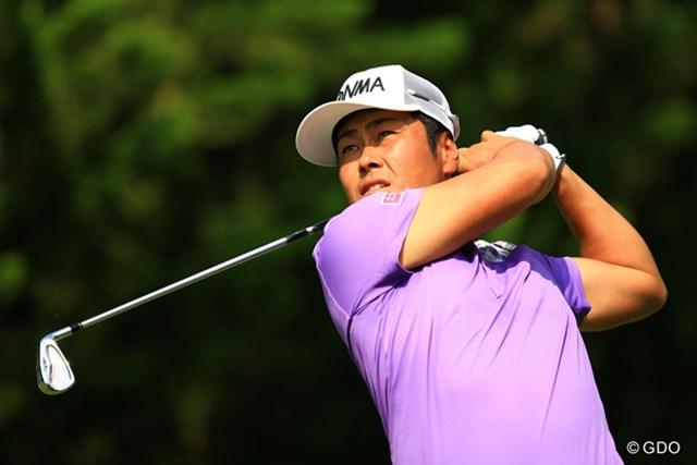 2014年 日本ゴルフツアー選手権 森ビルカップ Shishido Hills 初日 谷原秀人 ノーボギーの5アンダーをマークし、谷原秀人が首位タイ発進を決めた