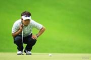 2014年 日本ゴルフツアー選手権 森ビルカップ Shishido Hills 初日 上平栄道