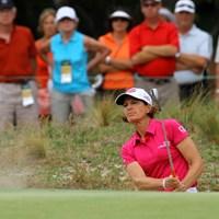 全米オープン引退を決めたインクスター。ゴルファーに美しい引き際があるのだろうか 2014年 全米女子オープン 2日目 ジュリ・インクスター