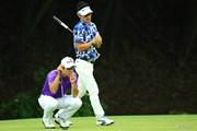 2014年 日本ゴルフツアー選手権 森ビルカップ Shishido Hills 3日目 キム・キョンテ キム・ヒョンソン