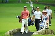 2014年 日本ゴルフツアー選手権 森ビルカップ Shishido Hills 3日目 竹谷佳孝 チャン・ドンキュ
