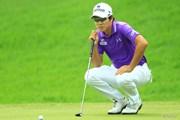 2014年 日本ゴルフツアー選手権 森ビルカップ Shishido Hills 3日目 キム・キョンテ