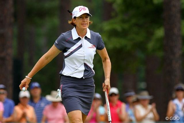 53歳のスーパーママゴルファー。今大会を最後の全米女子オープンにする意向を示していたが…?