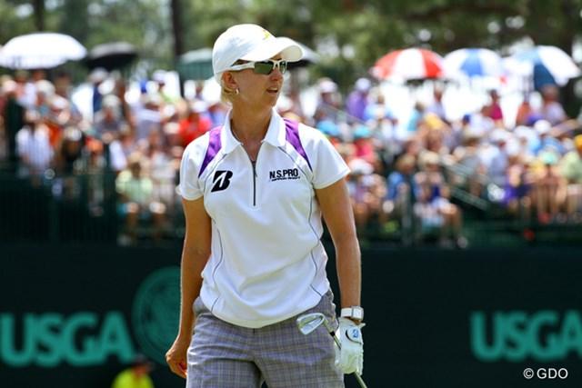 オーストラリアの女子ゴルフを引っ張るウェブ 後輩たちの道づくりにも熱心だ