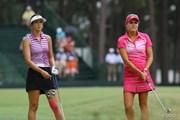 2014年 全米女子オープン 3日目 ミシェル・ウィ レクシー・トンプソン