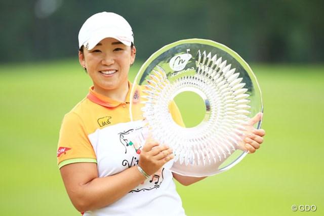 終盤に勝負強さを発揮した申智愛が、日本では4シーズンぶりとなる優勝を果たした