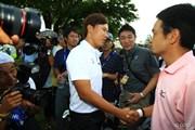 2014年 日本ゴルフツアー選手権 森ビルカップ Shishido Hills 最終日 竹谷佳孝 イ・サンヒ
