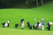2014年 日本ゴルフツアー選手権 森ビルカップ Shishido Hills 最終日 11番ホール