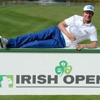 4日間首位を守りきる完全優勝を遂げたM.イロネン(Ross Kinnaird/Getty Images) 2014年 アイルランドオープン 最終日 ミッコ・イロネン