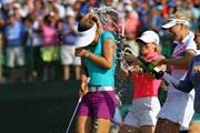 2014年 全米女子オープン 最終日 シャンパンファイト