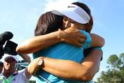 2014年 全米女子オープン 最終日 ハグ