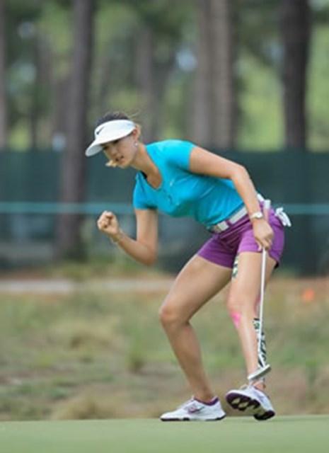 ナイキゴルフ契約ミシェル・ウィ、全米女子オープンで優勝