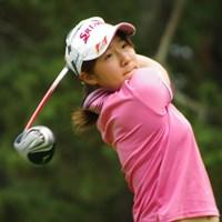 1日遅れの開幕となった今年の女子アマ。海外メジャー戻りの16歳・橋本千里が好発進! 2014年 日本女子アマチュアゴルフ選手権競技 2日目 橋本千里