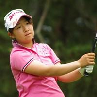 「全米女子オープン」から昨日帰国したばかりの橋本。息つく暇もなく今週はアマチュアの頂点を目指す 2014年 日本女子アマチュアゴルフ選手権競技 2日目 橋本千里