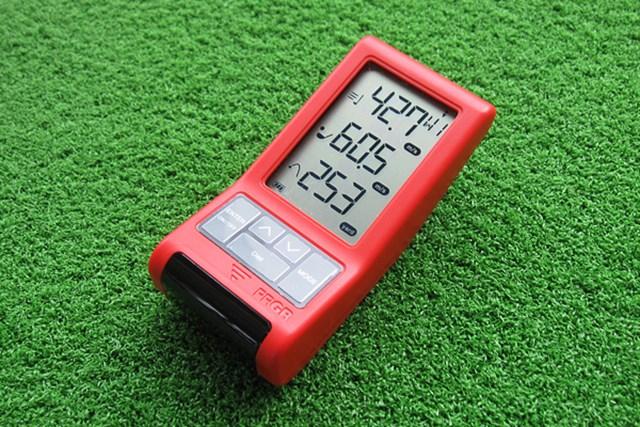 新製品レポート プロギア レッドアイズポケット HS-110(2014年) 飛距離測定器がリニューアル!「プロギア レッドアイズポケット HS-110(2014年)」を調査