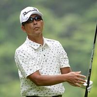 1イーグル8バーディで「62」をマークし、白浜育男が単独首位に立った(画像提供:日本プロゴルフ協会) 2014年 ISPS・HANDA CUP・フィランスロピーシニアトーナメント 初日 白浜育男