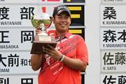 2014年 LANDIC ゴルフトーナメント2014 アソシアマンションメモリアル 最終日 甲斐慎太郎
