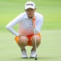 準々決勝で勝みなみを破った佐藤耀穂が決勝へ。明日は蛭田みな美とアマ日本一の座を争う 2014年 日本女子アマチュアゴルフ選手権 準決勝 佐藤耀穂