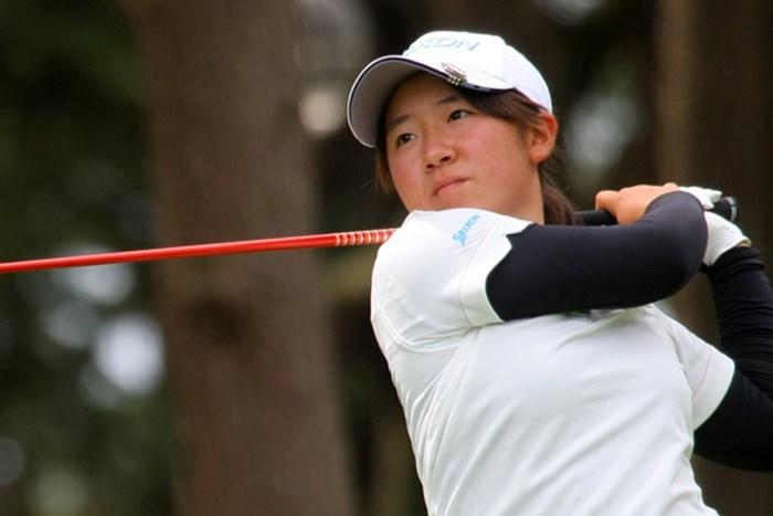 全米女子OPに出場した橋本は、長距離移動&強行日程をものともせずベスト4の記録を残した 2014年 日本女子アマチュアゴルフ選手権 準決勝 橋本千里