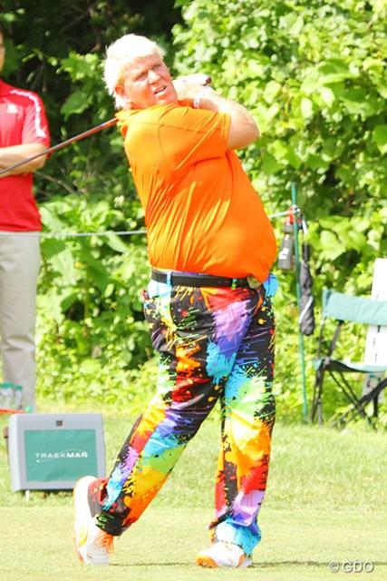 2014年 ジョン・デーリー トラックマン PGAツアーでは試合中にもトラックマンでの計測が行われている